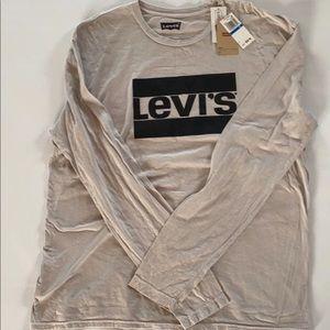 Levi'S Men'S Graphic Crew-Neck Logo T-Shirt